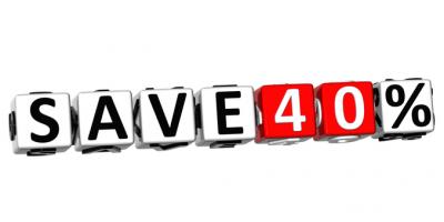 save40prozent